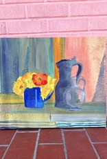 Flower and Pitcher Still Life