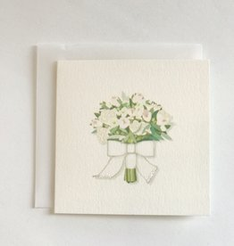 Karen Adams Flower Toss Mini Card