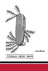 French Army Knife Napkins