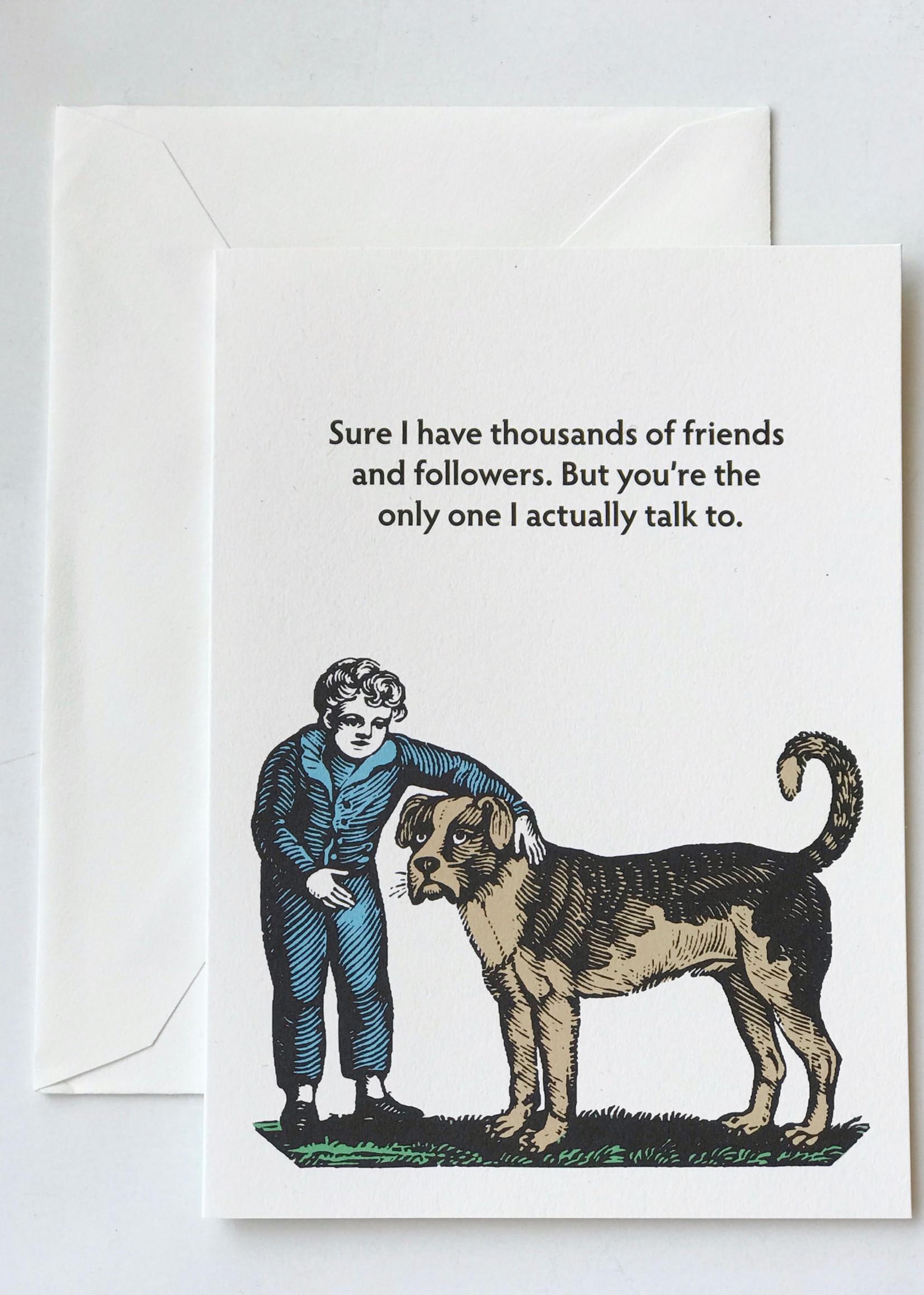 Seltzer Friends and Followers Card