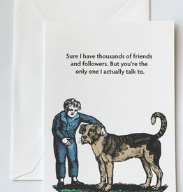 Seltzer Friends and Followers Card