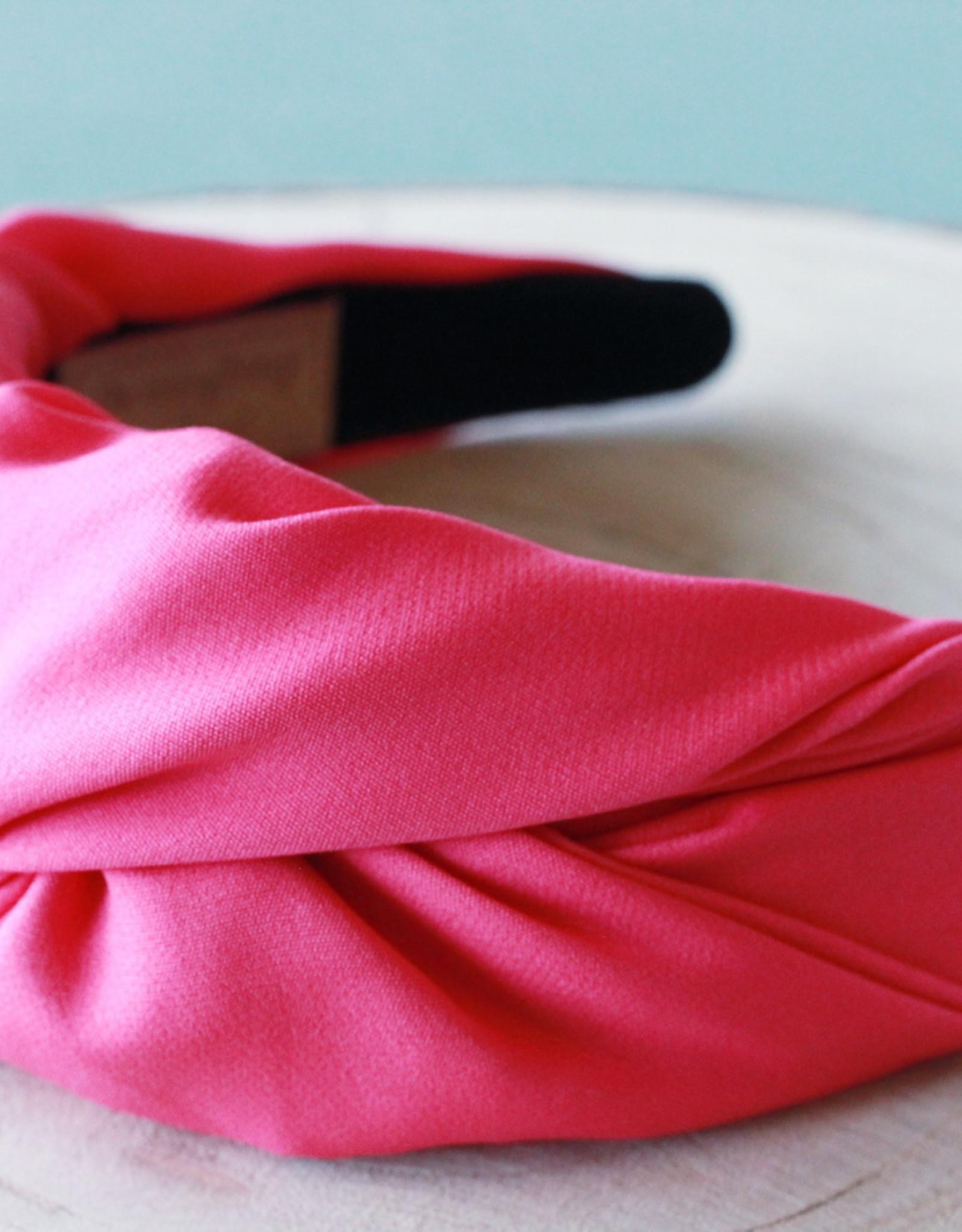 Fuchsia Knot Headband