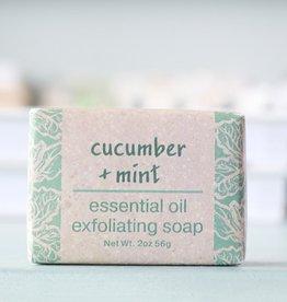 Greenwich Bay Trading Company GBTC Cucumber Mint Wrapped Soap