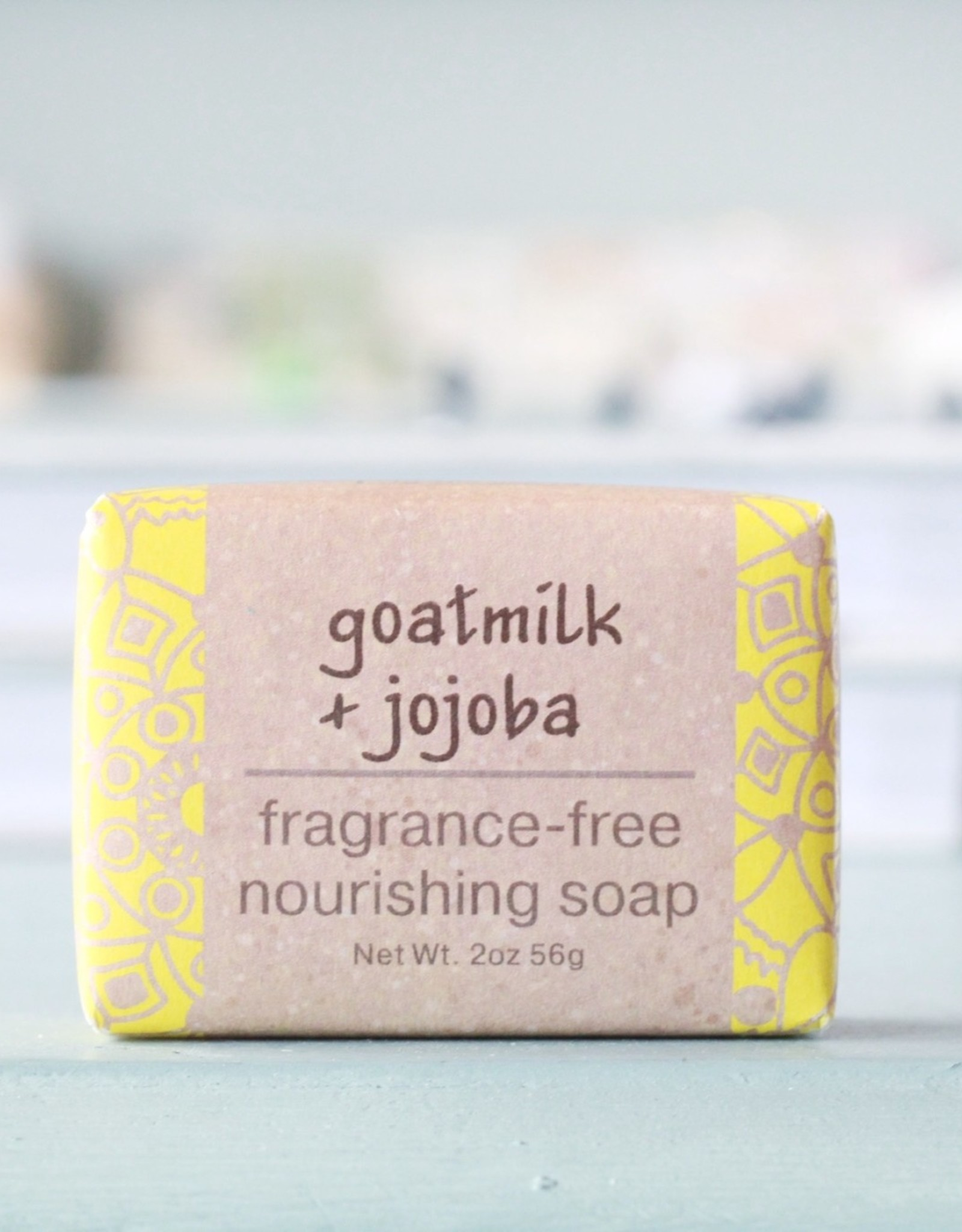 Greenwich Bay Trading Company GBTC Goatmilk Jojoba Wrapped Soap