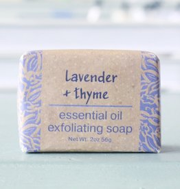 Greenwich Bay Trading Company GBTC Lavender Thyme Wrapped Soap