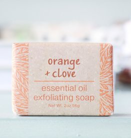 Greenwich Bay Trading Company GBTC Orange Clove Wrapped Soap