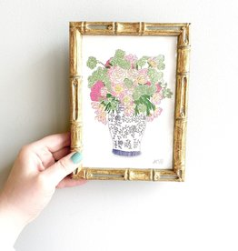 "Gold Bamboo 5""x7"" Frame"
