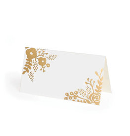 Gold Lace Placecards
