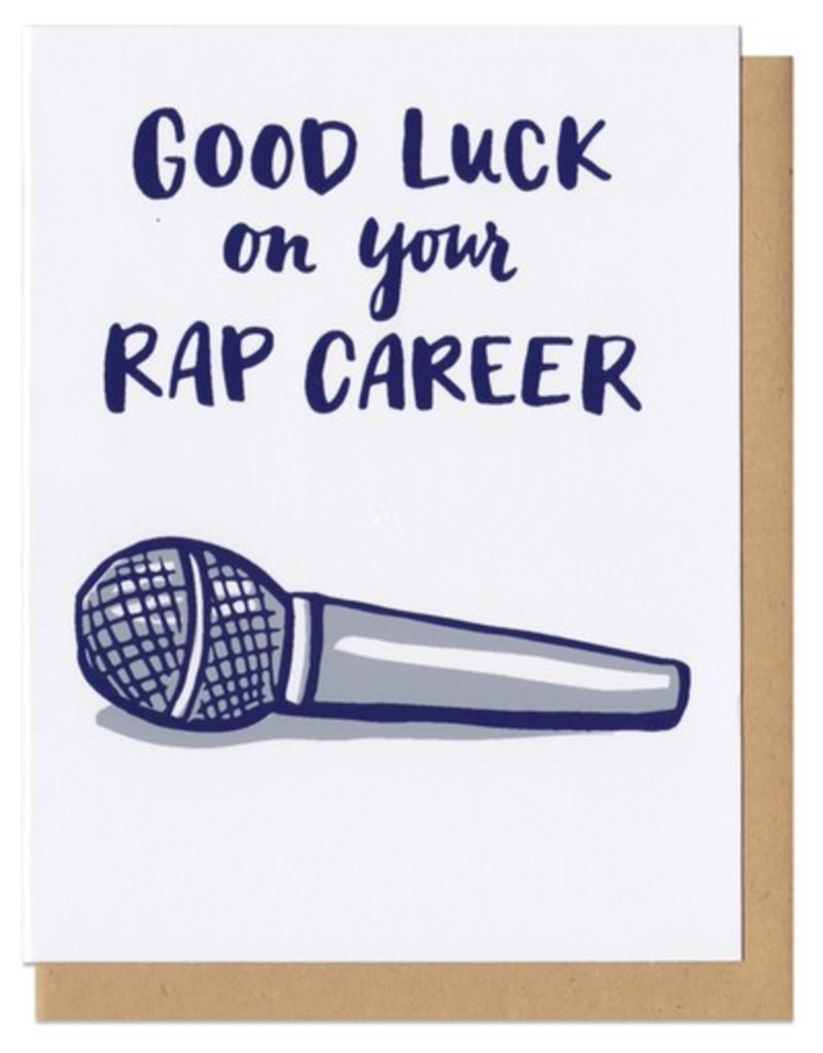 Frog and Toad Good Luck Rap Career Card