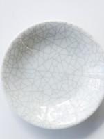 Grey Crackle Dish