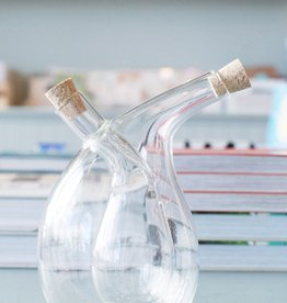 Hand Blown Oil and Vinegar Cruet