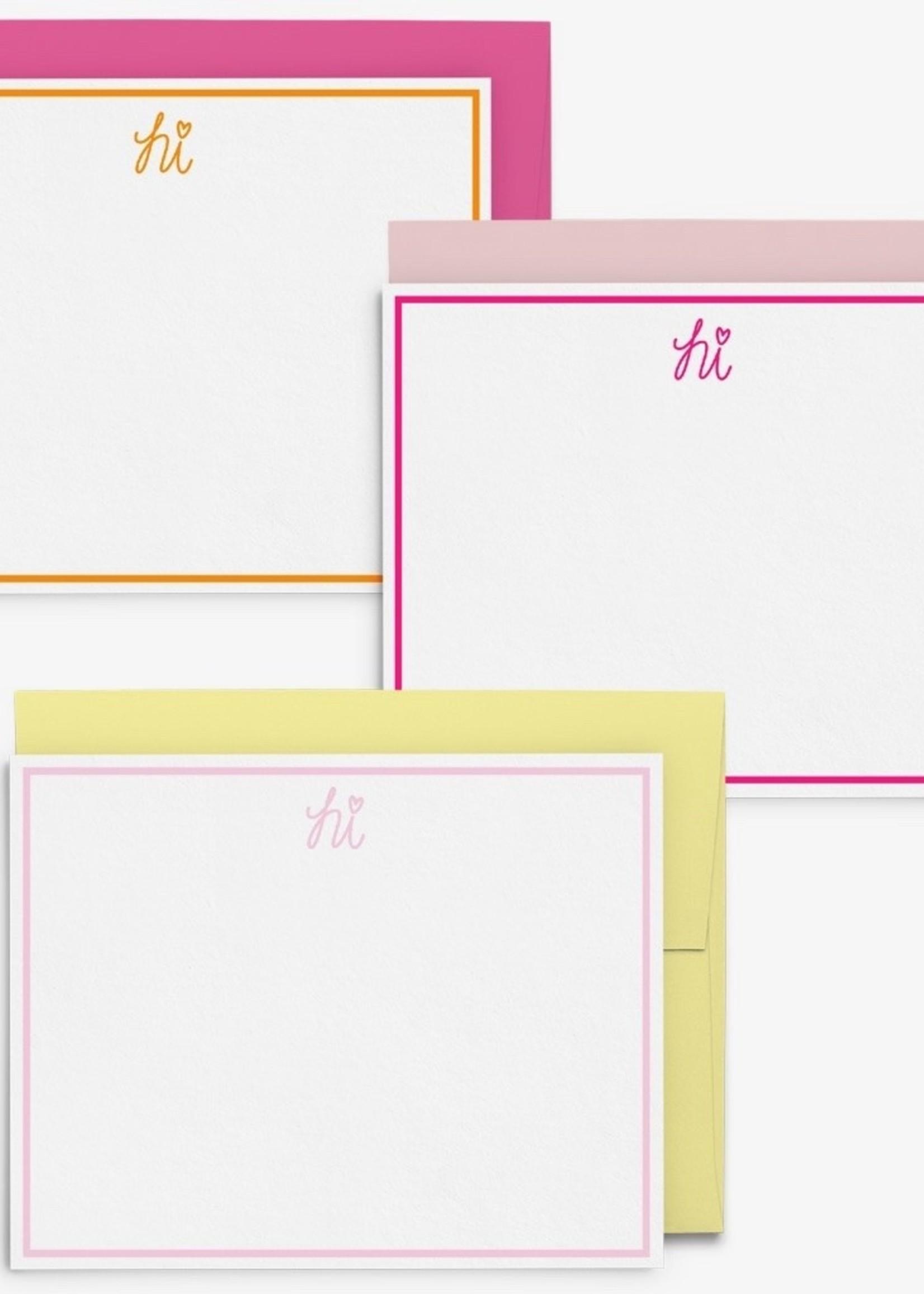 Hi Boxed Stationary Set