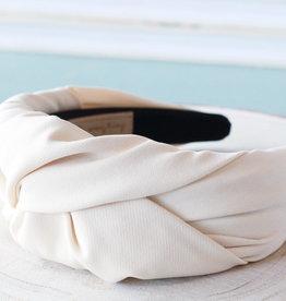 Ivory Knot Headband
