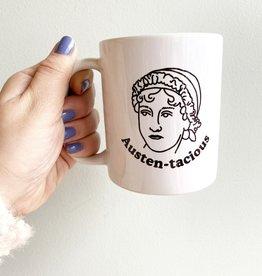 Seltzer Jane Austen Mug