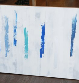 Jennifer Flannigan JF Original Artwork- Blue