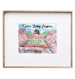 Julia Hall McQueen JHMQ Carter Finley Print