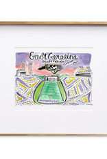 Julia Hall McQueen JHMQ ECU Stadium Print