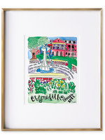Julia Hall McQueen JHMQ MC Courtyard Print