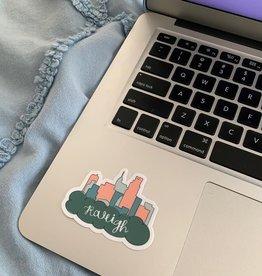 Julia Hall McQueen JHMQ Raleigh Sticker