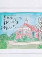Julia Hall McQueen JHMQ St David's School Print
