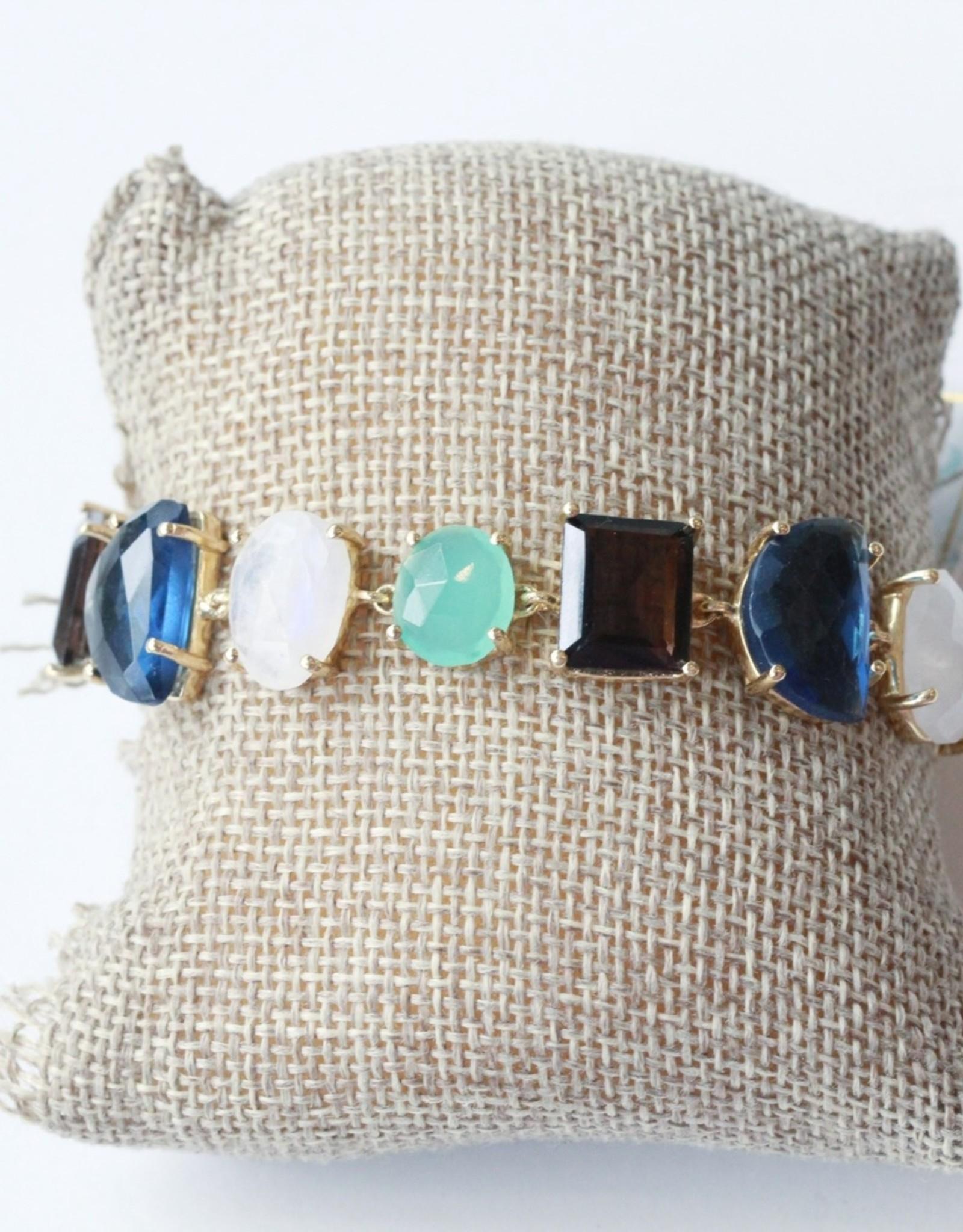 Joya Aqua Chalcedony Bracelet