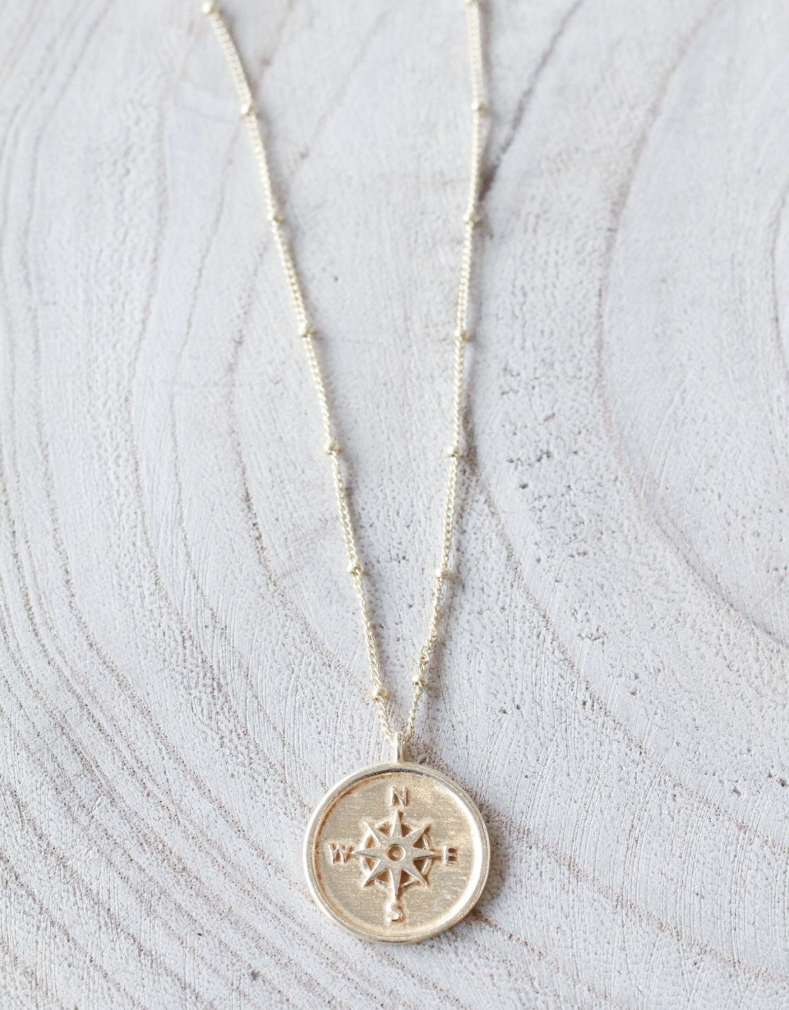 Joya Compass Necklace