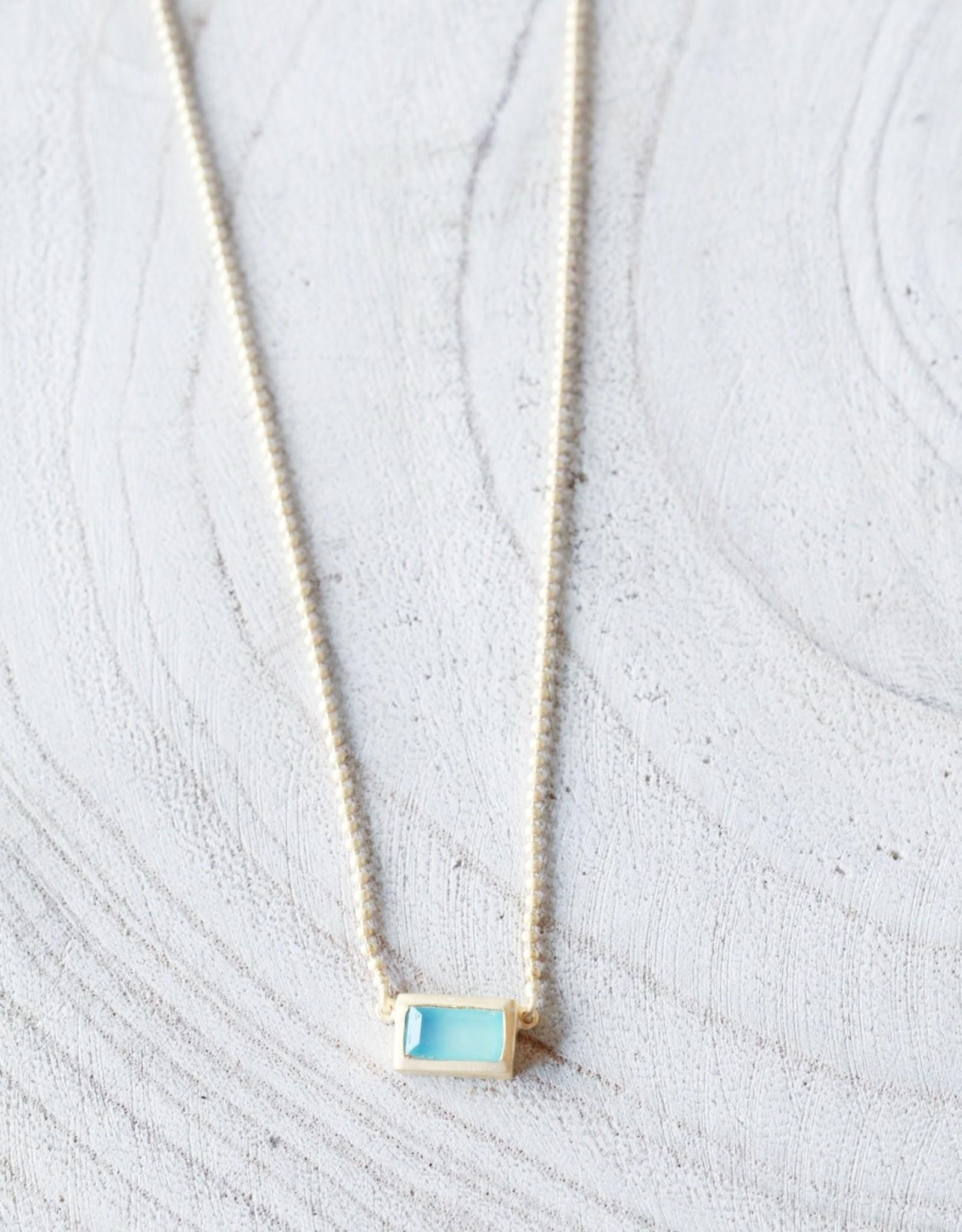 Joya Maeve Necklace- Aqua