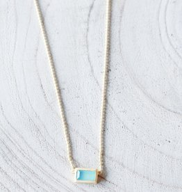 Joya Maeve Necklace- Aqua
