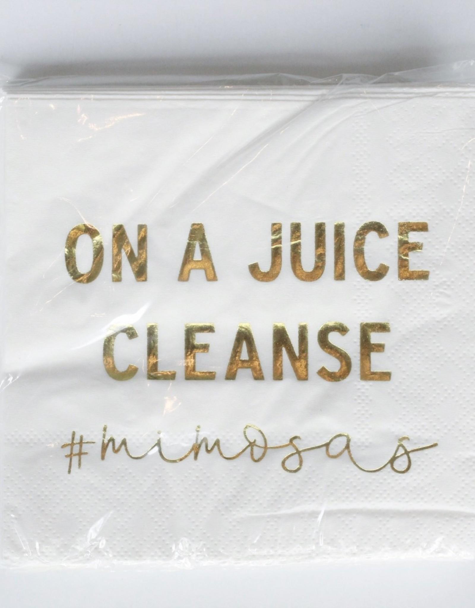 Juice Cleanse Napkins