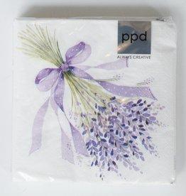 Lavender Bouquet Napkins