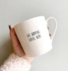 Life Happens Mug