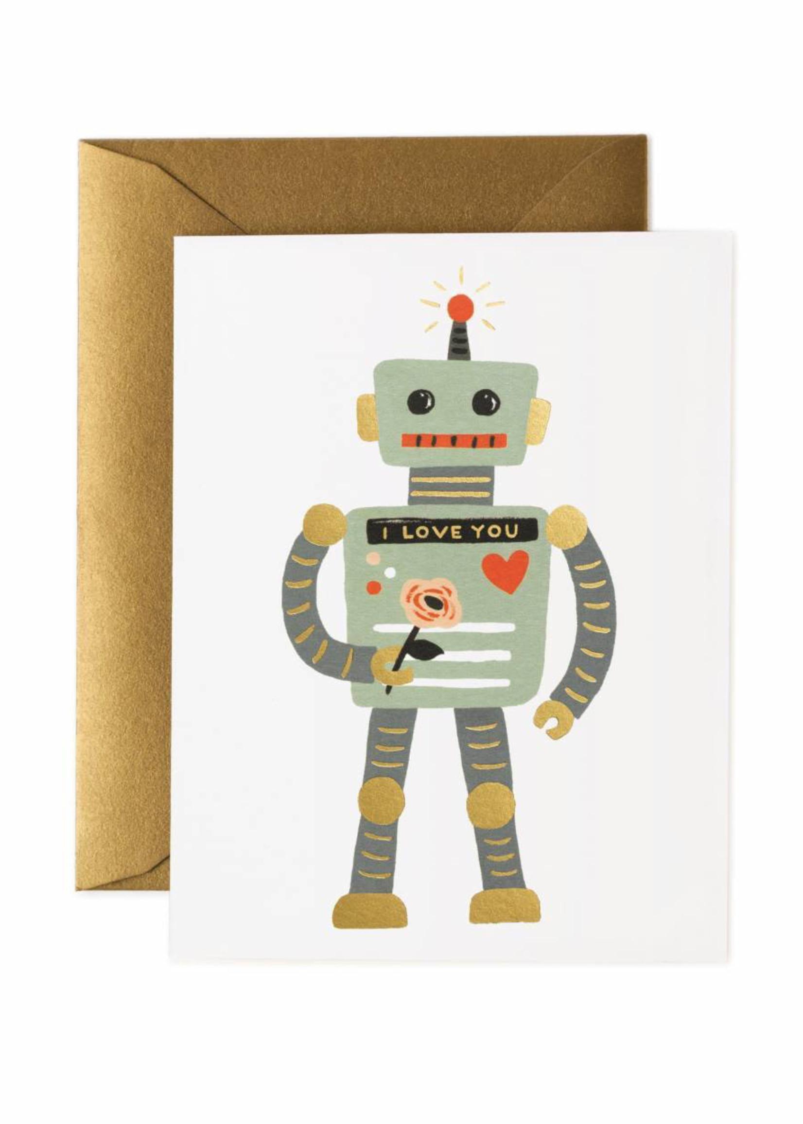 Love Robot Card