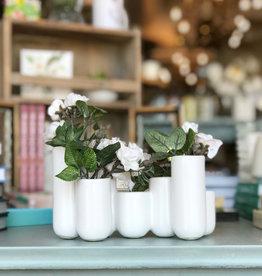 Luna Ceramic Bud Vase Cluster