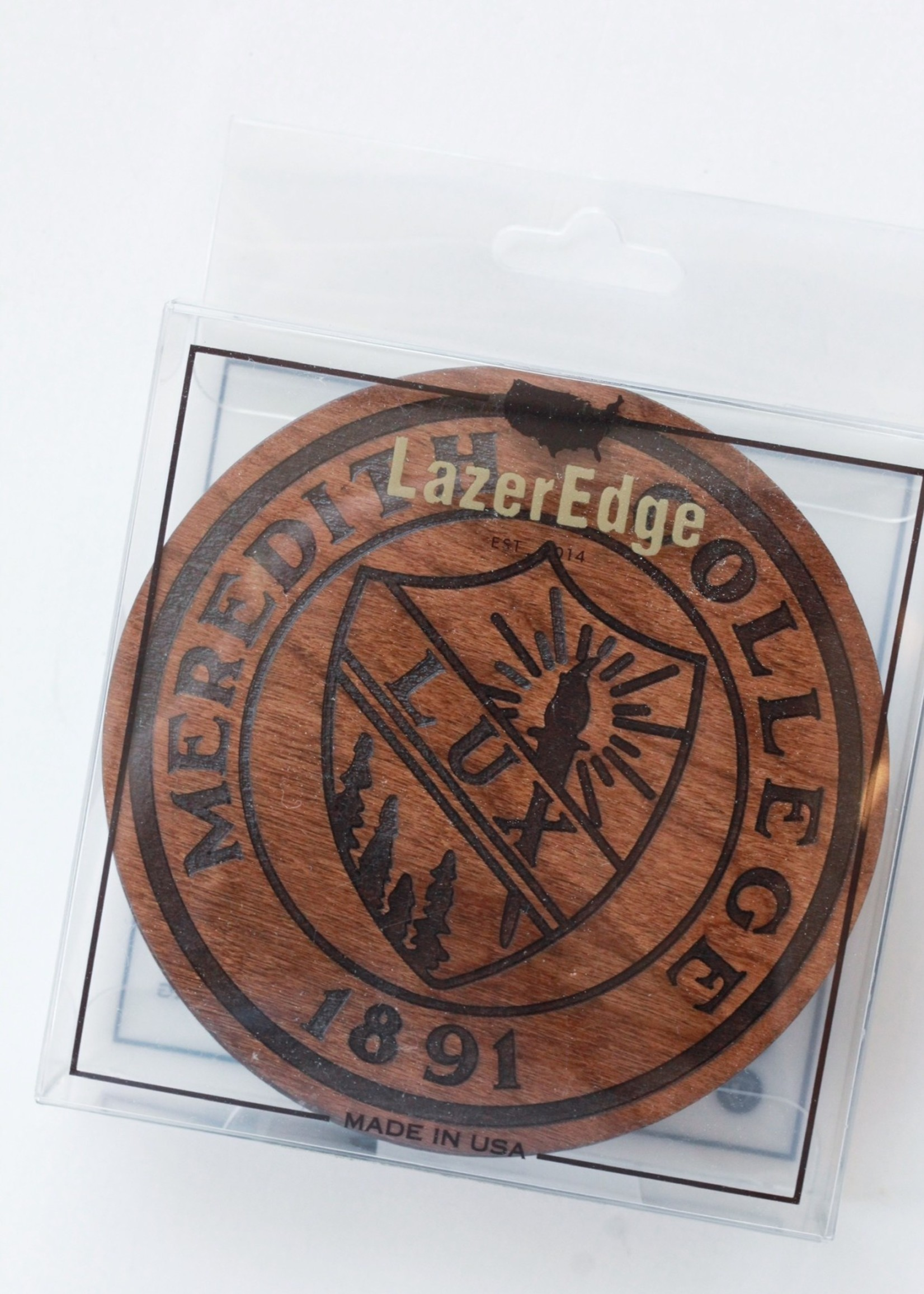 Meredith College Seal Coasters