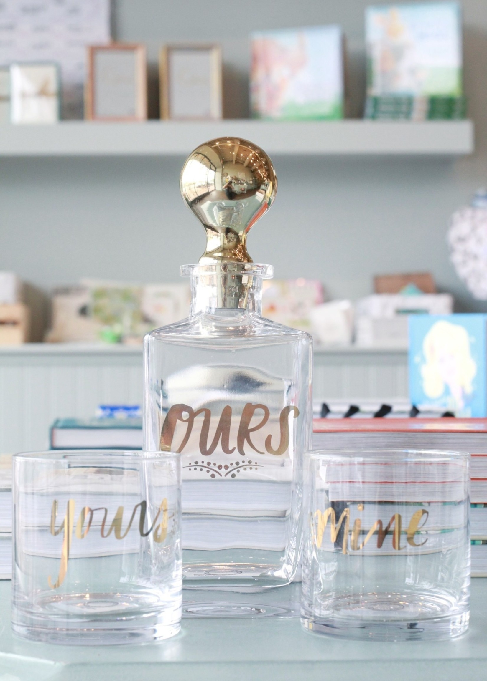 Mine Yours Ours Carafe