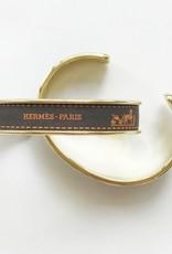 Gold Ribbon Cuff