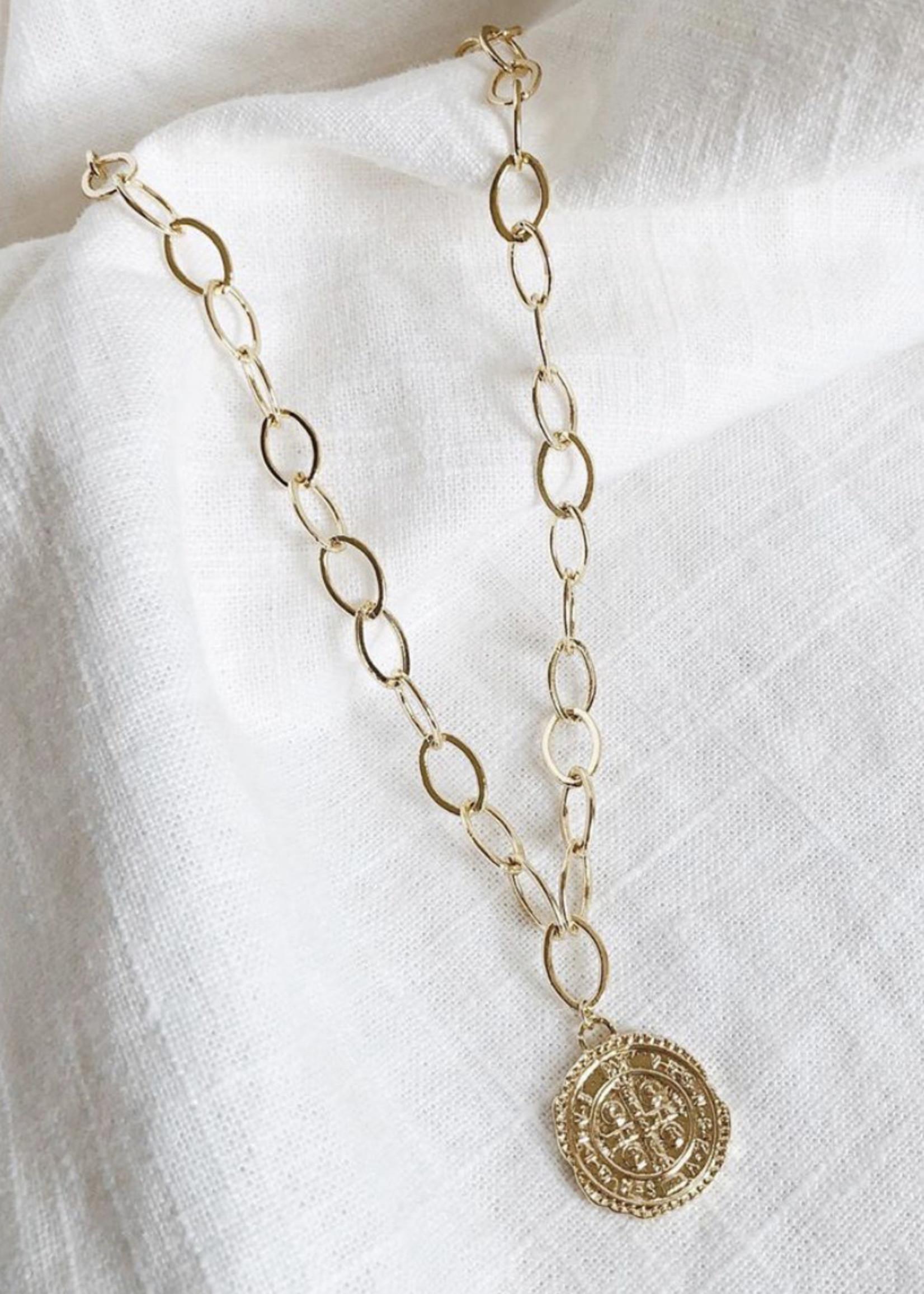 Bofemme Bofemme Medallion Necklace