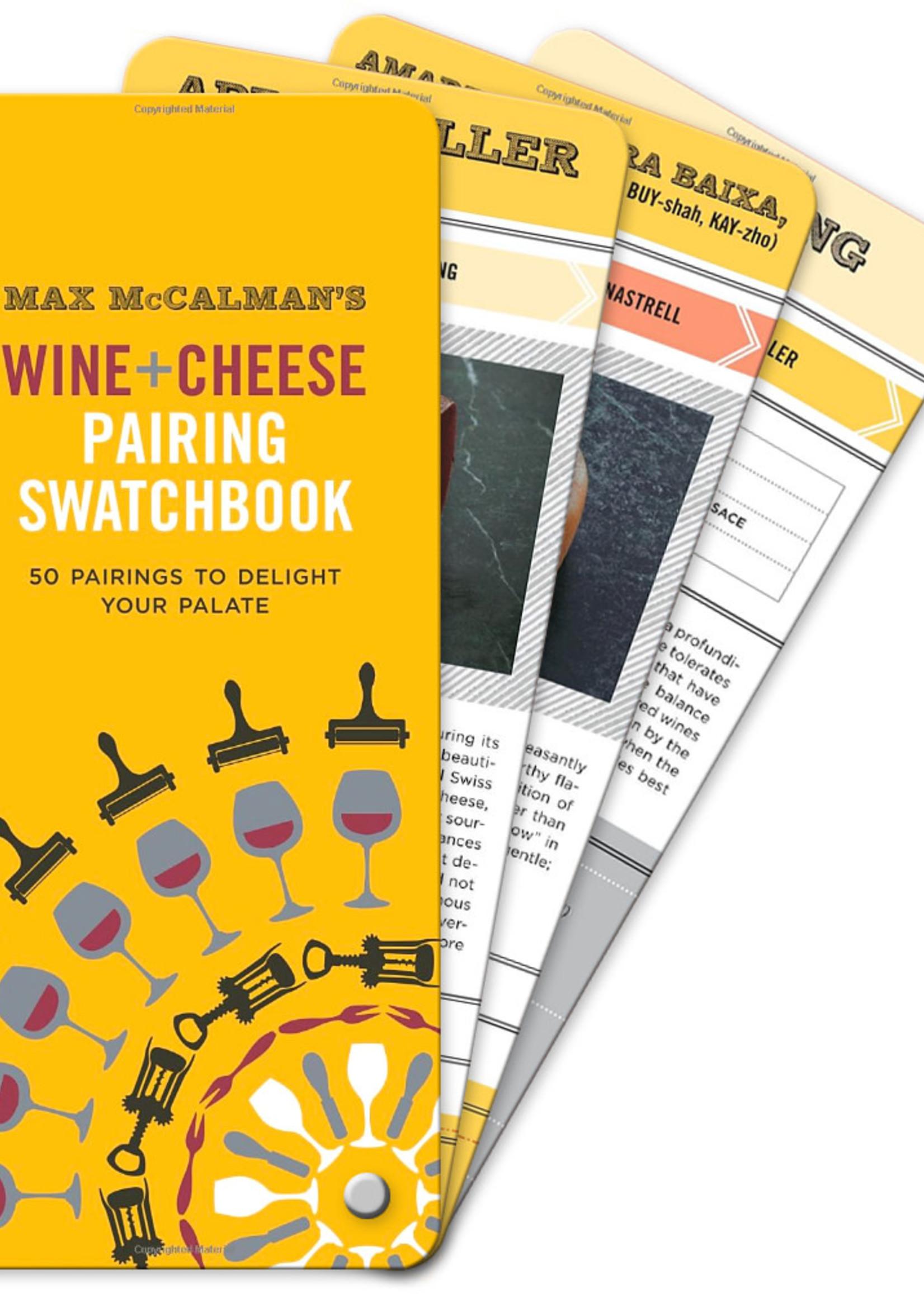 Wine + Cheese Pairing Swatchbook
