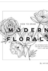 How to Draw Modern Florals Book
