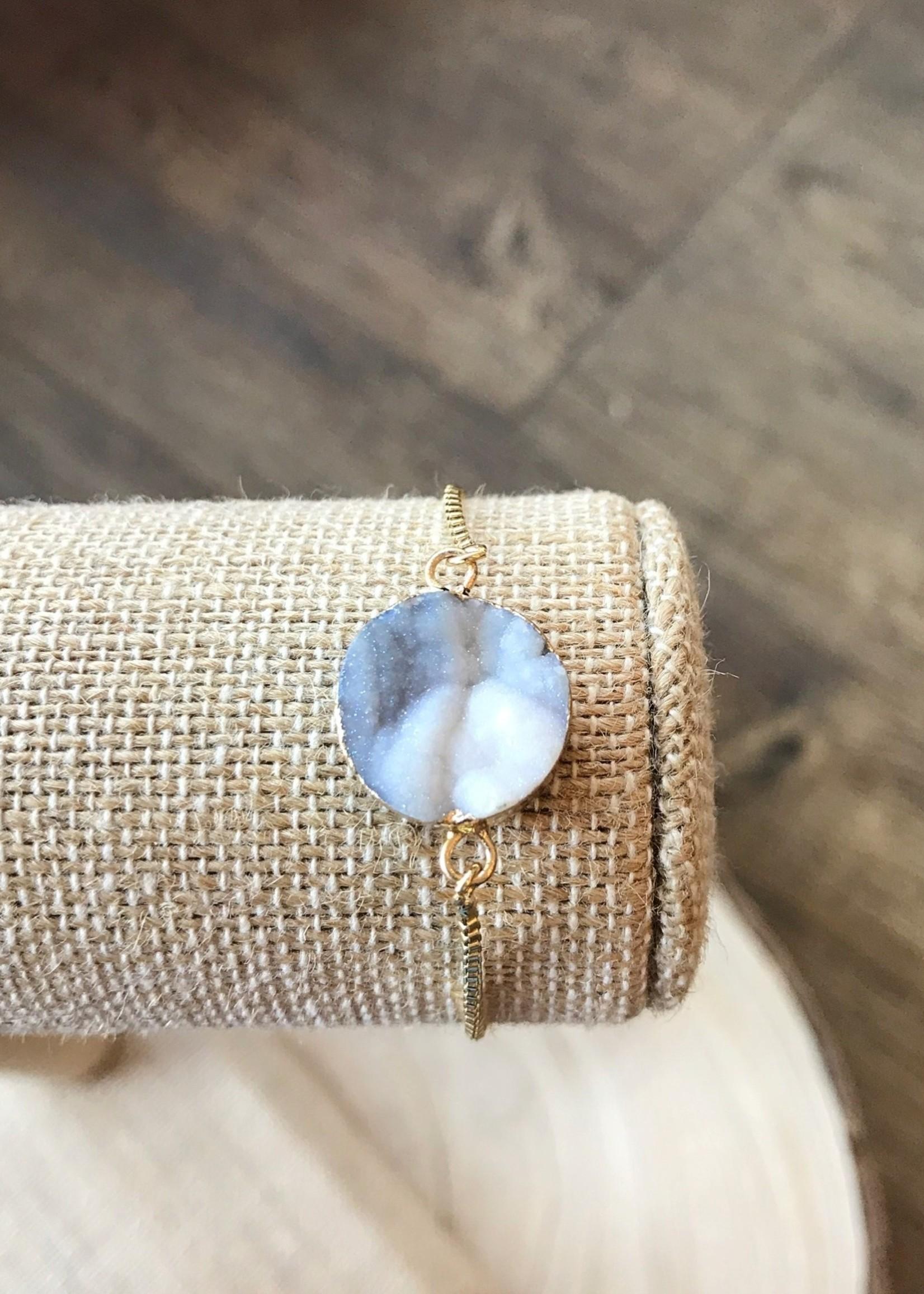 Allison Conway AC Circle Marble Geo Bracelet
