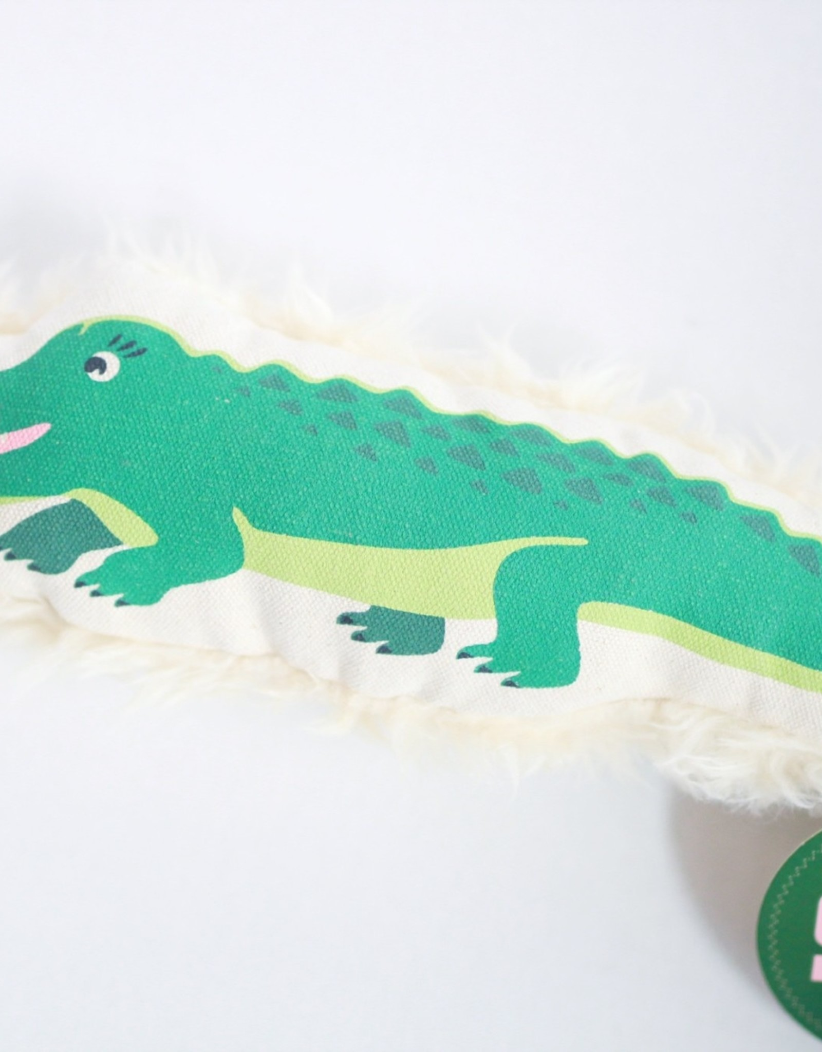 Alligator Canvas Toy Lg.