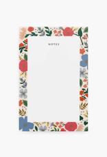 Wild Rose Notepad