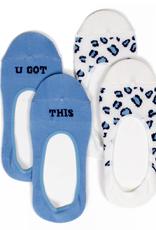 Women's No Show Socks U Got This