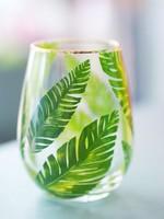 Stemless Wineglass Botanical