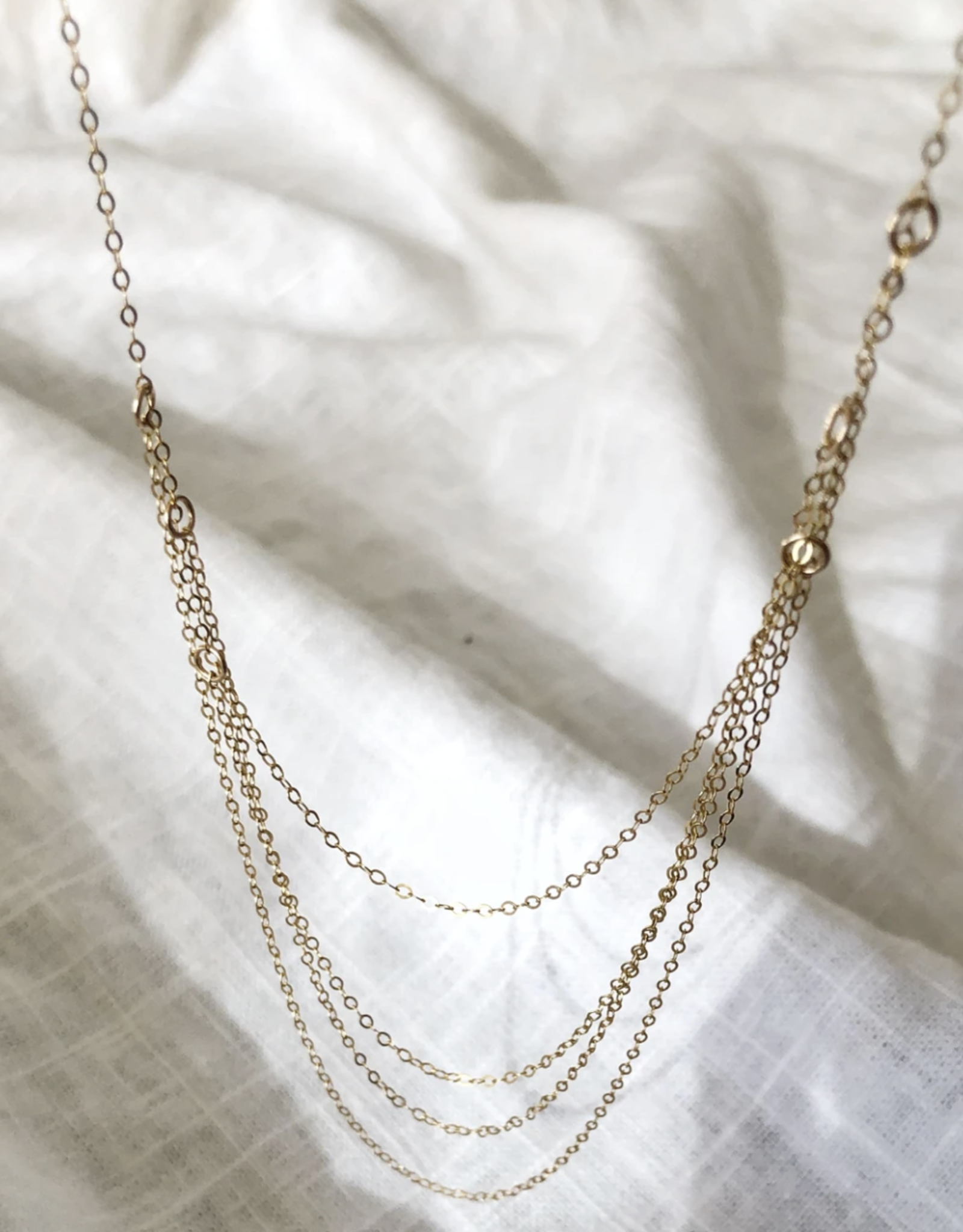 Bofemme Bofemme Aurora Chains Necklace