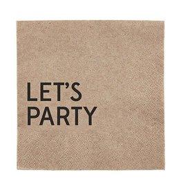 Let's Party Napkins