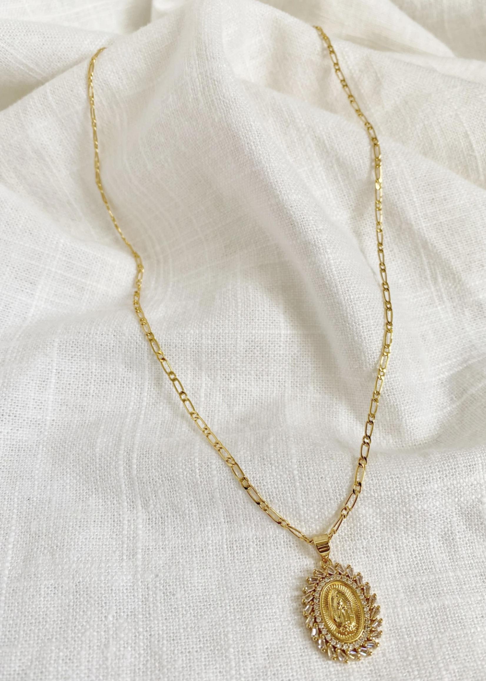 Bofemme Bofemme Golden Mary Necklace