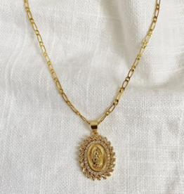 Bofemme Bofemme Golden Mary Necklace