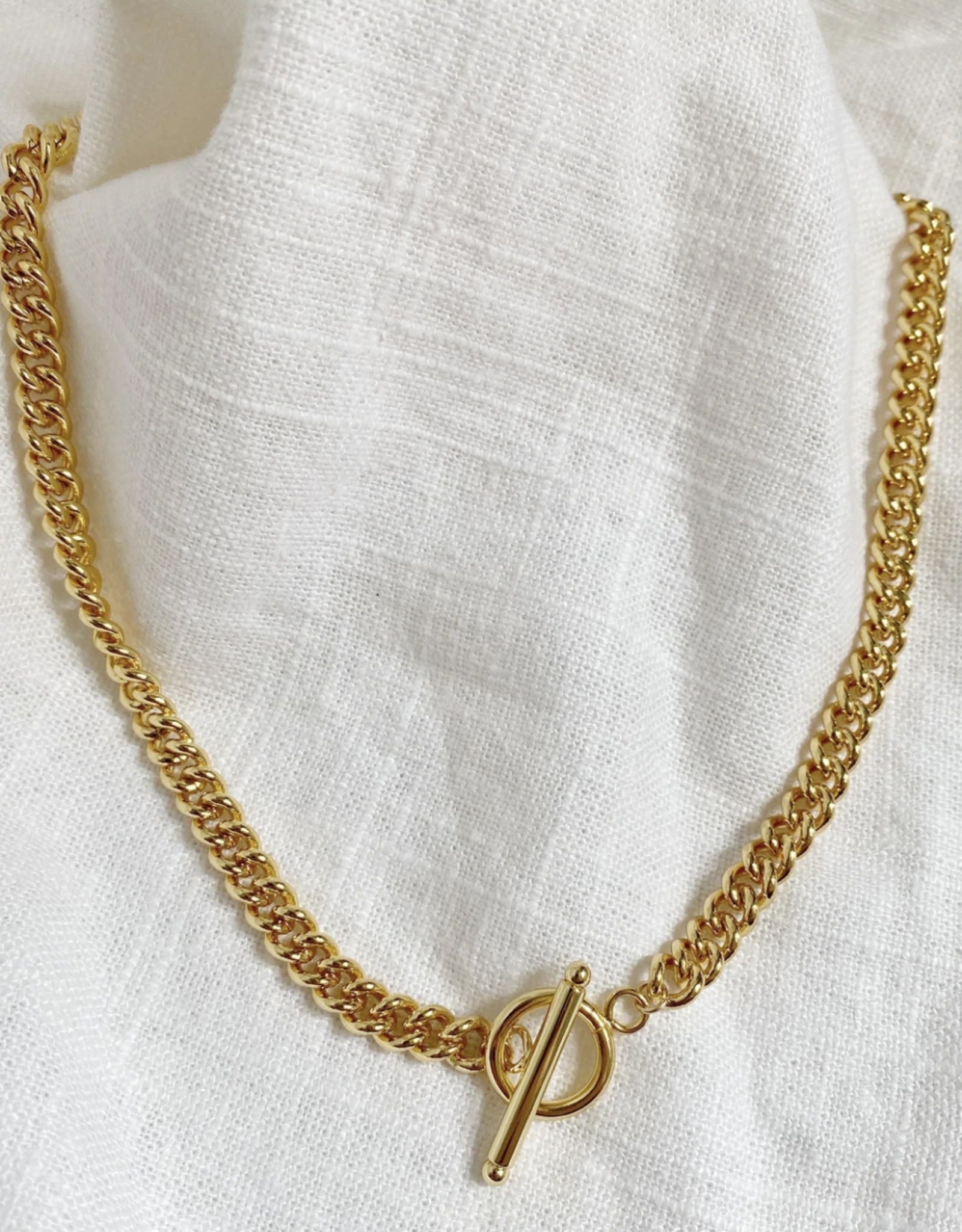 Bofemme Bofemme Thick Cuban Chain Necklace