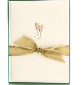 Pink Champagne Boxed Set of Cards